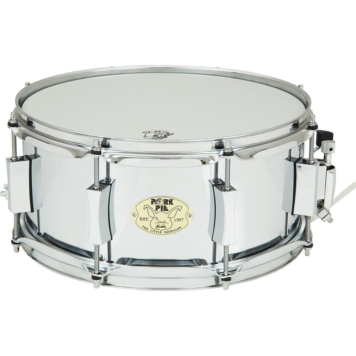 Pork Pie Little Squealer Steel Snare Drum