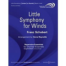 Boosey and Hawkes Little Symphony for Winds Windependence Chamber Ensemble  by Franz Schubert Arranged by Verne Reynolds
