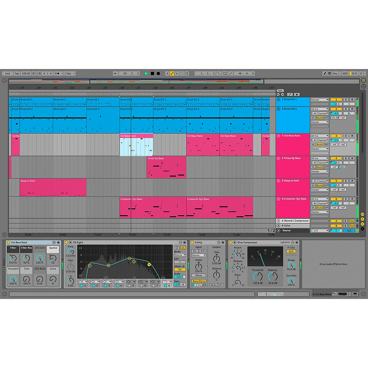 Ableton Live 10 Standard - Upgrade From Live Intro (Software Download