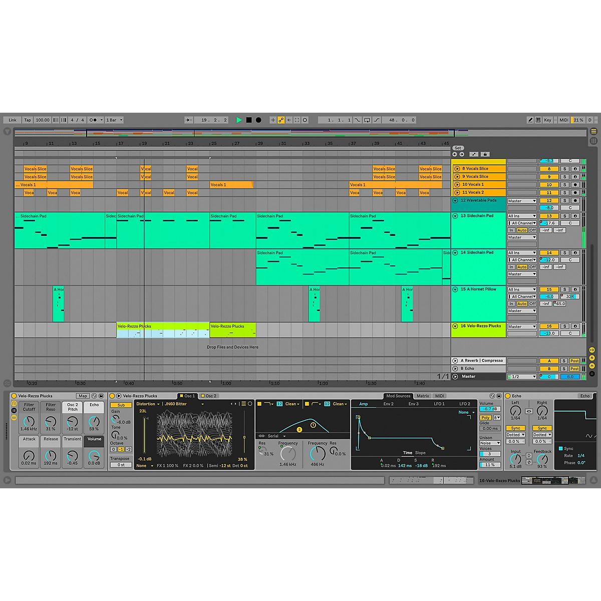 Ableton Live 10 Suite - Upgrade From Live 1-9 Standard (Software Download)