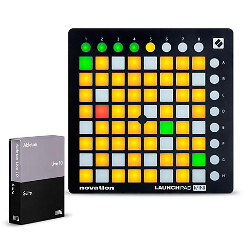 Ableton Live 10 Suite with Novation Launchpad Mini MKII