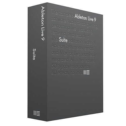 Ableton Live 9.5 Suite Upgrade from Live 9 Standard Software Download