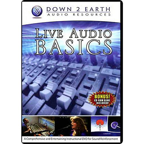 Down 2 Earth Live Audio Basics DVD