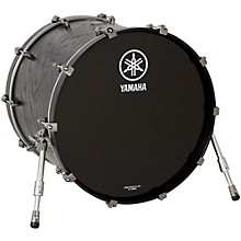 Live Custom Bass Drum without Mount 22 x 18 in. Black Wood