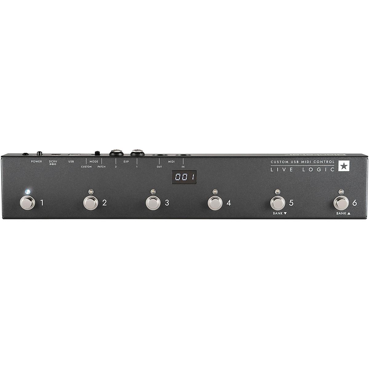 Blackstar Live Logic 6 Button MIDI Footcontroller