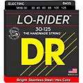 DR Strings Lo Rider MH6-30 Medium Stainless Steel 6-String Bass Guitar Strings .125 Low B thumbnail