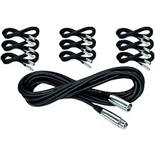 Musician's Gear Lo-Z Microphone Cable 20 FT 10-Pack