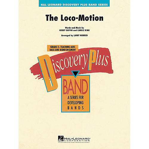 Hal Leonard Loco-Motion, The - Discovery Plus Concert Band Series arranged by Larry Norred