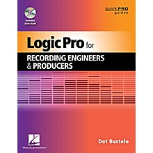 Hal Leonard Logic Pro For Recording Engineers And Producers - Quick Pro Guides Series Book/DVD-ROM