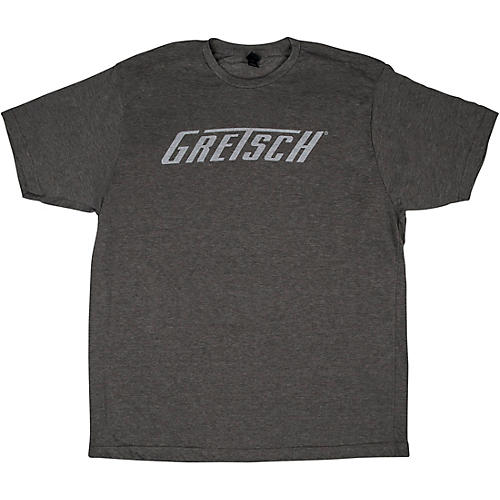 Gretsch Logo Heather Gray T-Shirt