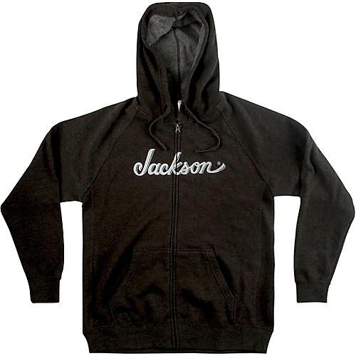 Jackson Logo Hoodie - Gray