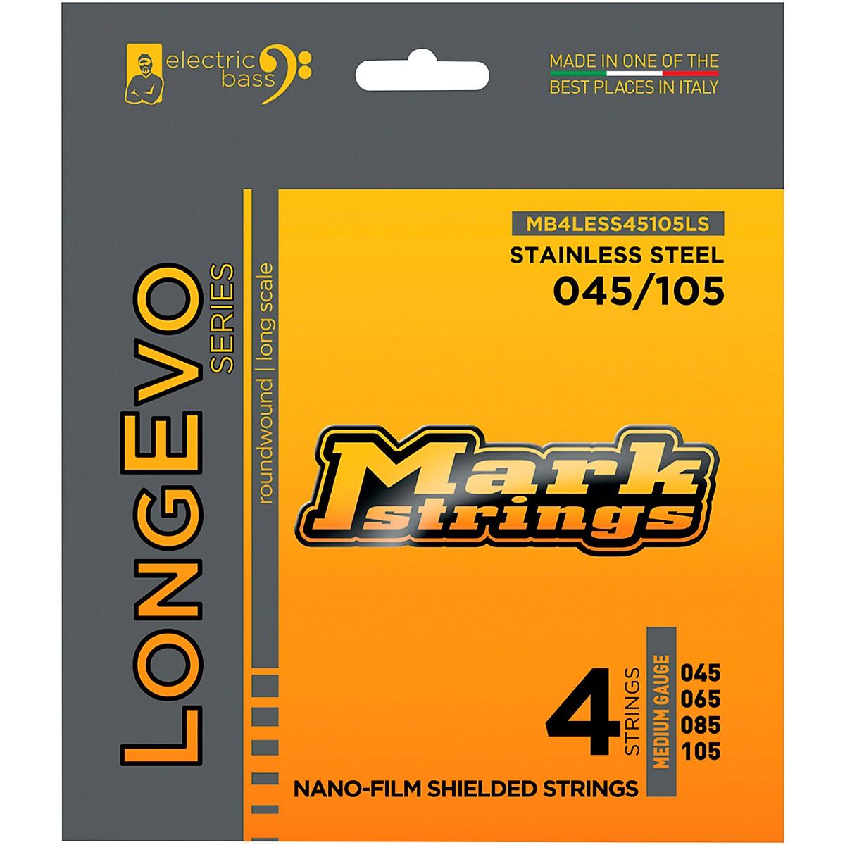 Markbass Longevo Series Nano Film Electric Bass Stainless Steel Strings