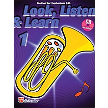 Hal Leonard Look, Listen & Learn - Method Book Part 1 (Euphonium (B.C.)) De Haske Play-Along Book Series