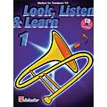 Hal Leonard Look, Listen & Learn - Method Book Part 1 (Trombone (T.C.)) De Haske Play-Along Book Series thumbnail