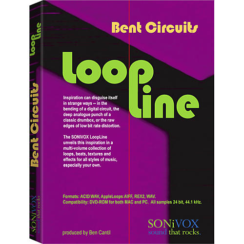Sonivox LoopLine Bent Circuits Sample Loop Library