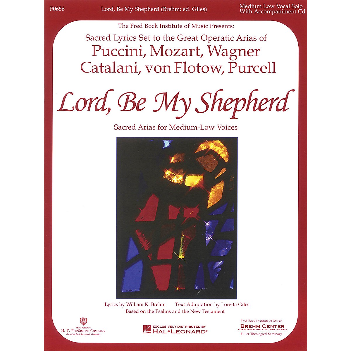 H.T. FitzSimons Company Lord, Be My Shepherd (Low Voice) Low Voice arranged by William Brehm