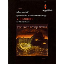 Amstel Music Lord of the Rings, The (Symphony No. 1) - Hobbits - Mvt. V Concert Band Level 5-6 by Johan de Meij