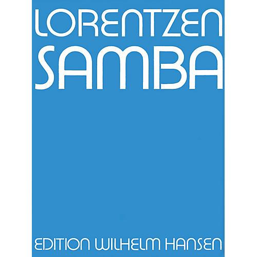Music Sales Lorentzen Samba Clt/Tbn/Vlc/Pf Player's Score Music Sales America Series