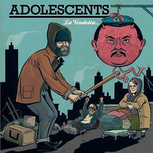 Alliance Los Adolescents - La Vendetta E Un Piatto Che Va Servito Freddo