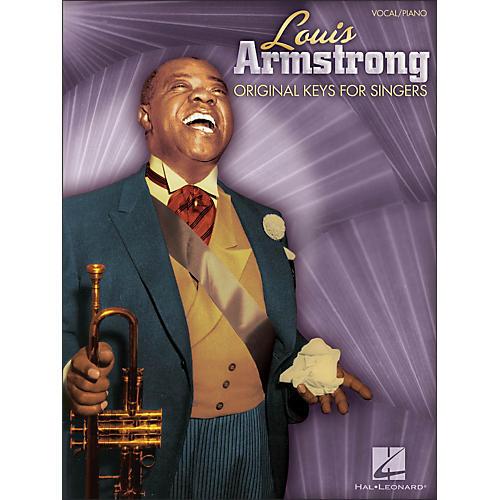 Hal Leonard Louis Armstrong - Original Keys for Singers (Vocal / Piano)