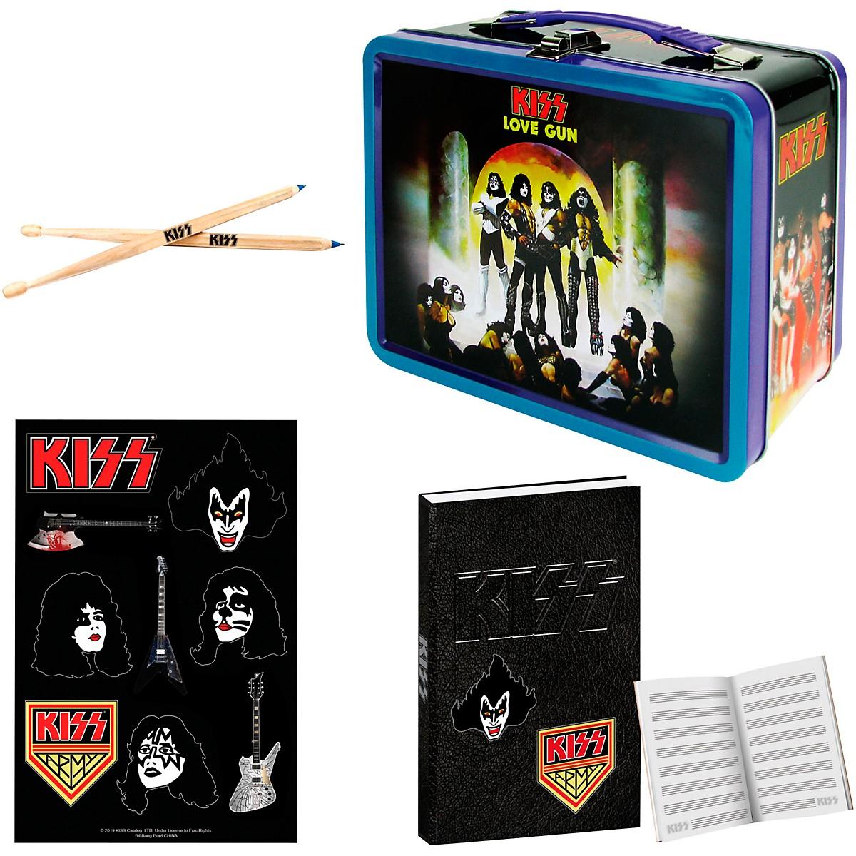 KISS Love Gun Tin Tote Gift Set