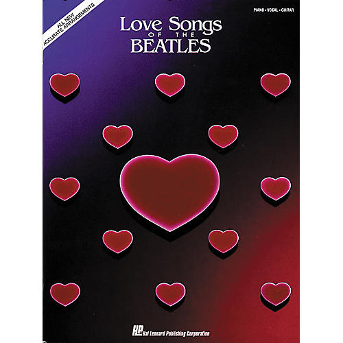 Hal Leonard Love Songs Of The Beatles Piano/Vocal/Guitar Artist Songbook