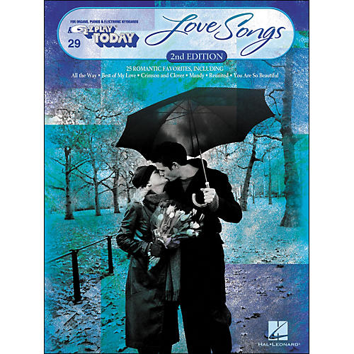 Hal Leonard Love Songs Second Edition E-Z Play 29