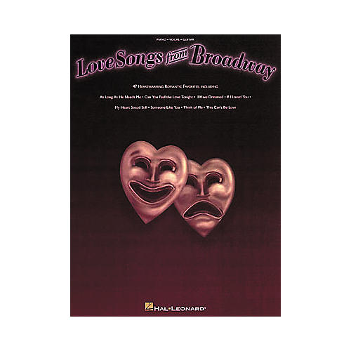 Hal Leonard Love Songs from Broadway Piano/Vocal/Guitar Songbook