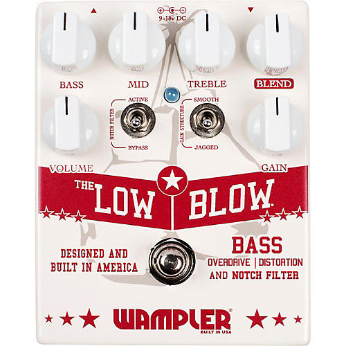 Wampler Low Blow Bass Overdrive Distortion Pedal