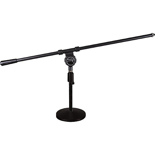 Musician's Friend Low-Profile Round-Base Mic Stand with Regular Boom