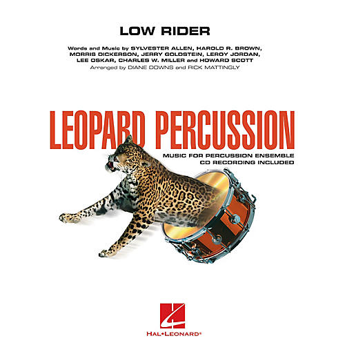 Hal Leonard Low Rider Concert Band Level 3 by War Arranged by Diane Downs