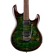 Luke 3 HH Flame Maple Top Rosewood Fingerboard Electric Guitar Luscious Green