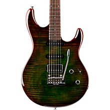 Luke 3 HSS Flame Maple Top Rosewood Fingerboard Electric Guitar Luscious Green