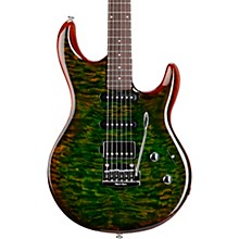 Luke 3 HSS Quilt Maple Top Rosewood Fingerboard Electric Guitar Luscious Green