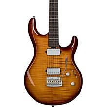 Luke Flame Maple Top Electric Guitar Hazel Burst