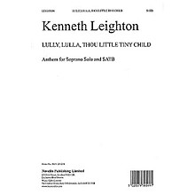 Novello Lully, Lulla, Thou Little Tiny Child Op.25b SATB Composed by Kenneth Leighton