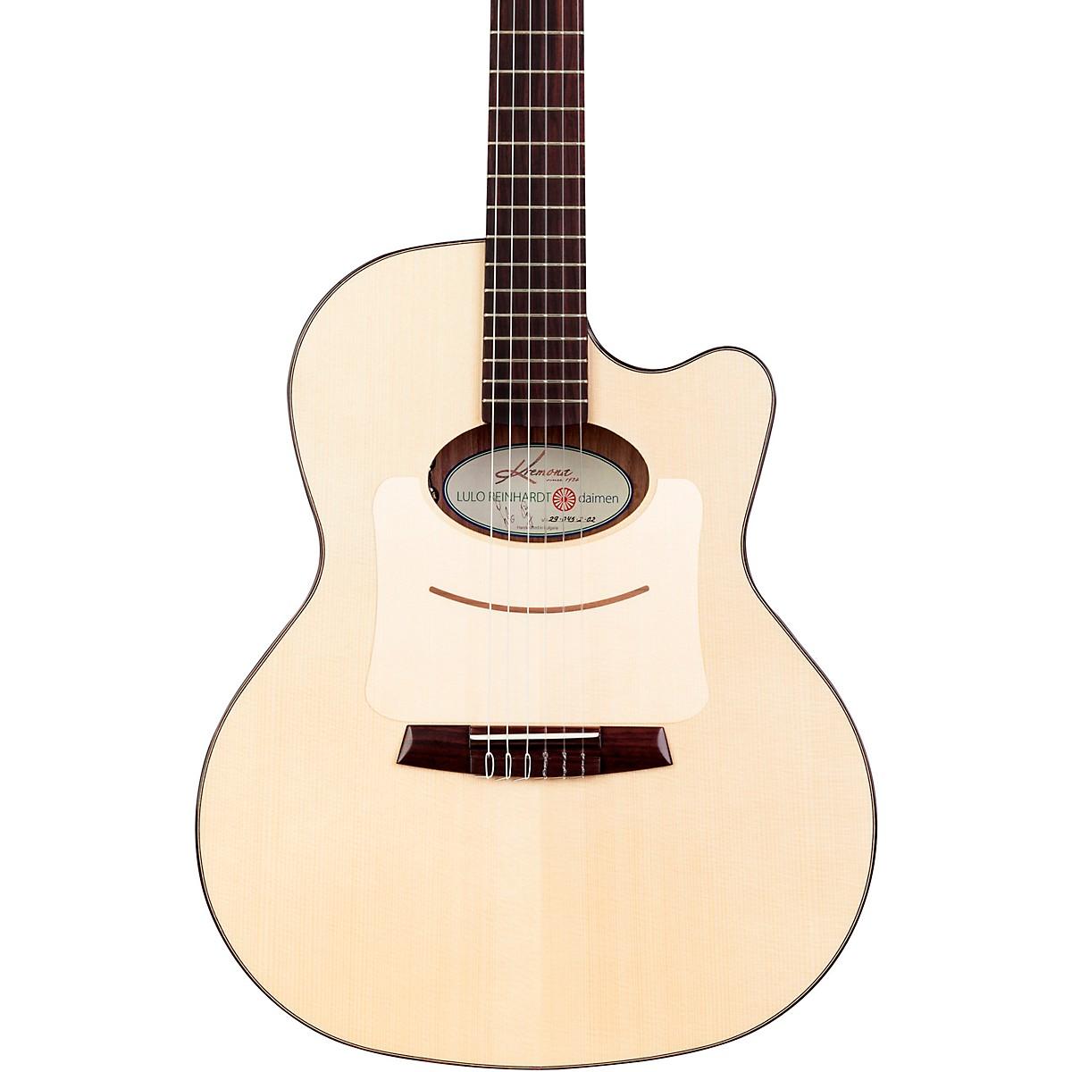 Kremona Lulo Reinhardt Daiman 14 Fret Nylon-String Acoustic-Electric Guitar