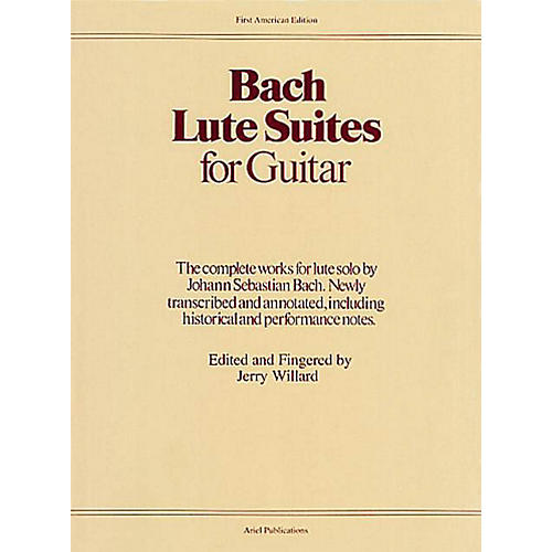 Music Sales Lute Suites for Guitar Music Sales America Series Softcover