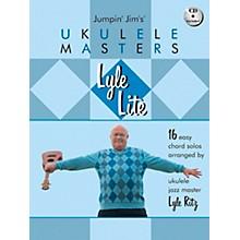 Hal Leonard Lyle Lite: 16 Easy Chord Solos Arranged by Ukulele Jazz Master Book/CD