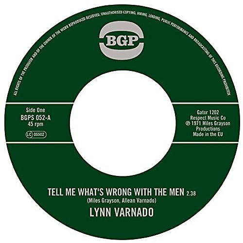 Alliance Lynn Varnado - Tell Me What's Wrong with the Men / Staying at