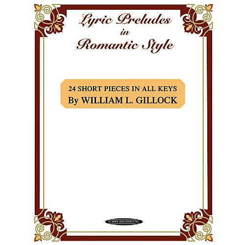 Alfred Lyric Preludes in Romantic Style Intermediate/Late Intermediate Piano