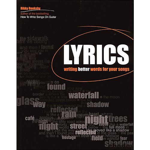 Backbeat Books Lyrics - Writing Better Words for Your Songs