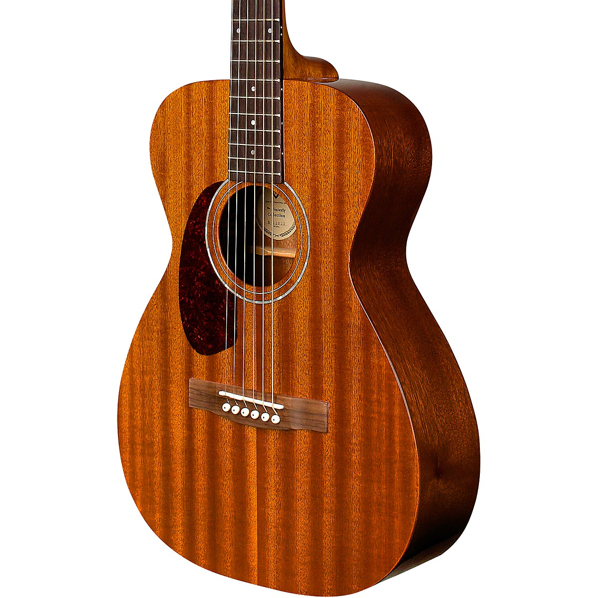 Guild M-120L Westerly Collection Left-Handed Concert Acoustic Guitar