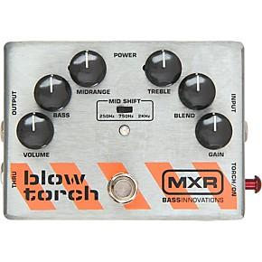 open box mxr m 181 bass blowtorch overdrive distortion pedal guitar center. Black Bedroom Furniture Sets. Home Design Ideas