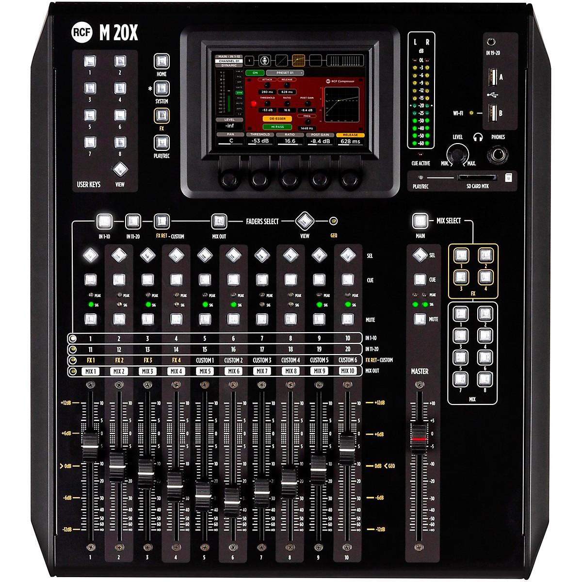 RCF M 20X 20-Channel Digital Mixer