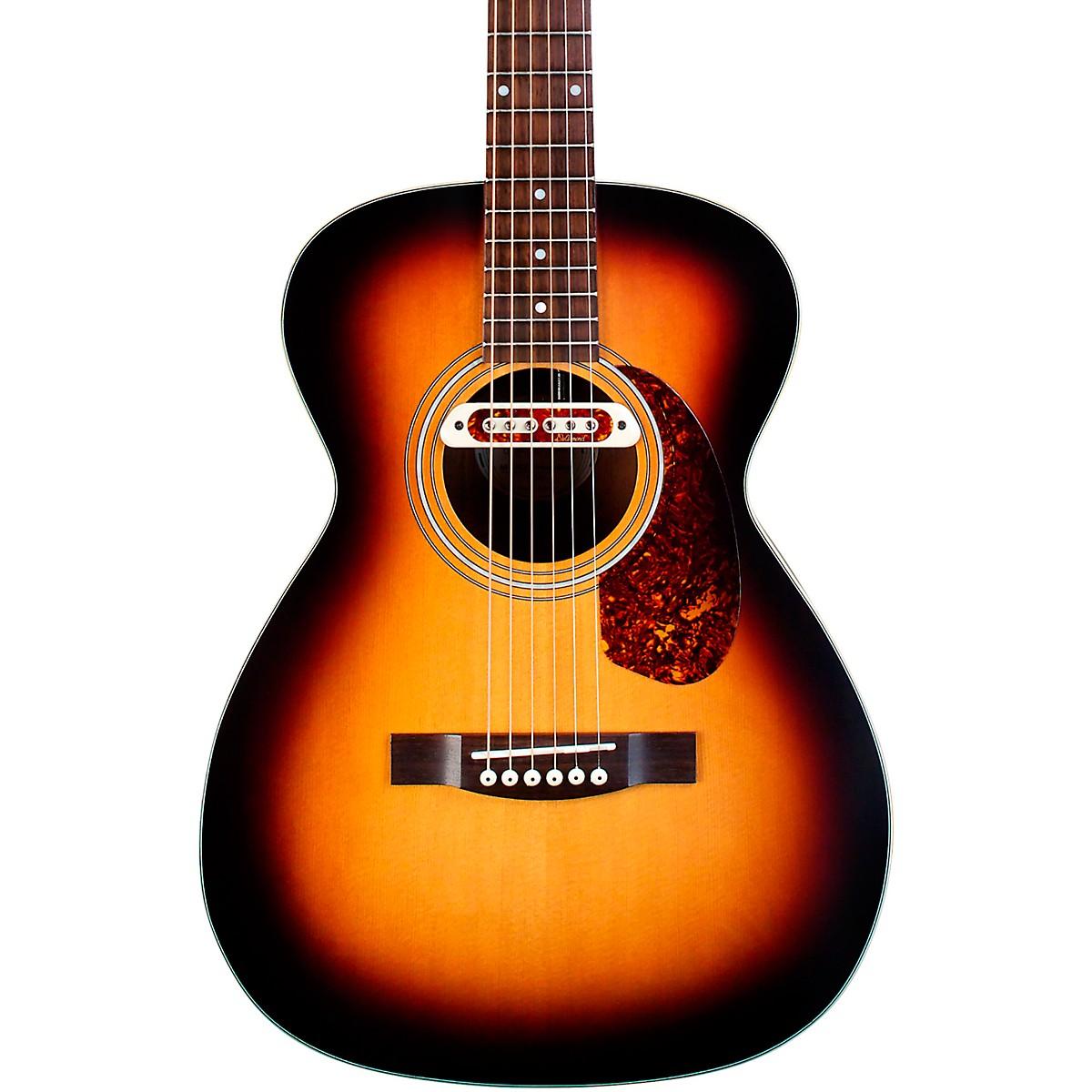 Guild M-240E Troubadour Concert Acoustic-Electric Guitar