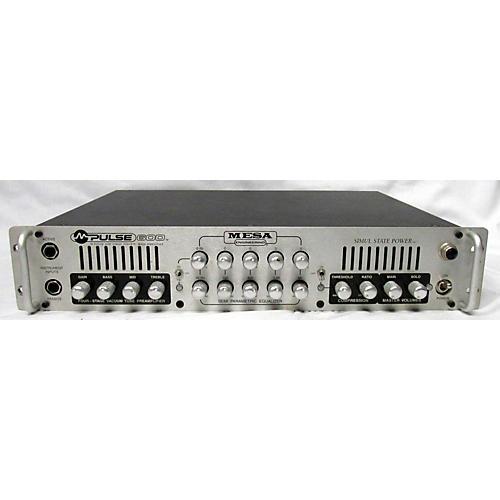 Mesa Boogie M-PULSE 600 Bass Amp Head