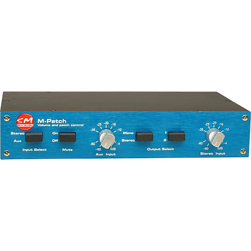 SM Pro Audio M-Patch Passive Volume Control
