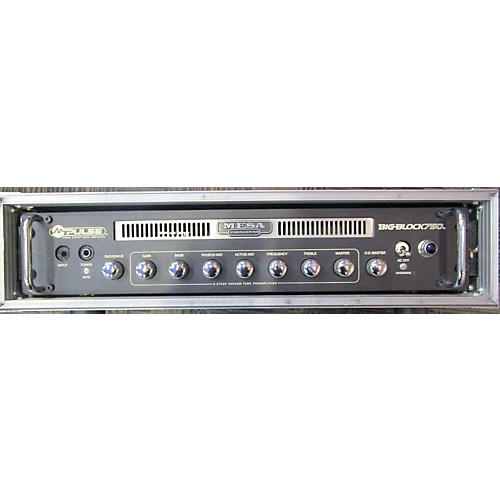 Mesa Boogie M Pulse Big Block 750 Tube Bass Amp Head