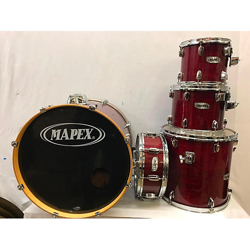 used mapex m series drum kit candy apple red guitar center. Black Bedroom Furniture Sets. Home Design Ideas